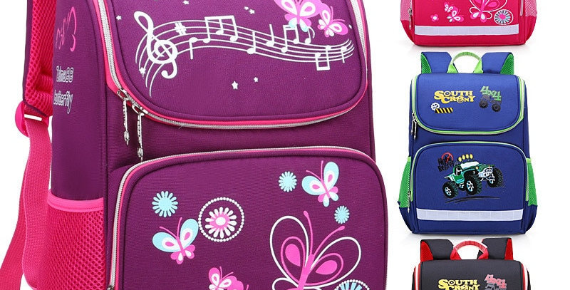 Children School Bags Orthopedic Backpack for Girls Boys Waterproof Backpacks