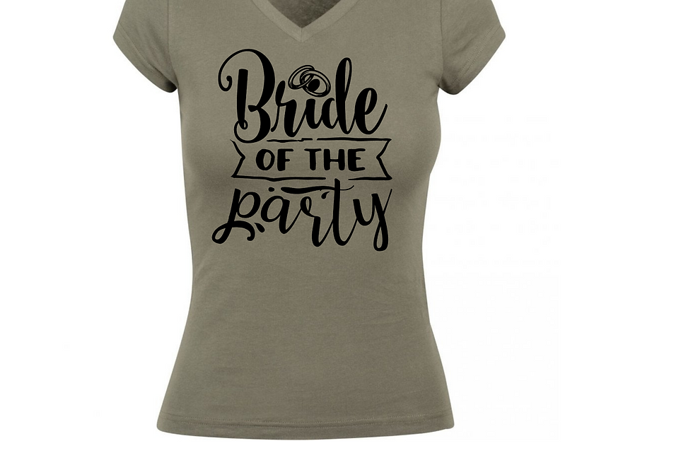 Bride Of The Party Shirt