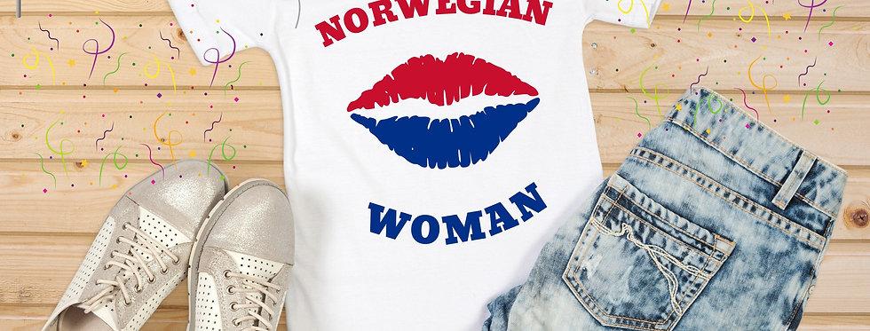 Norwegian Woman T-Shirt