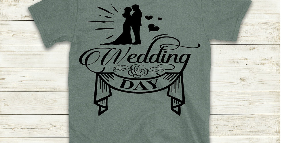 Wedding Day T-Shirt