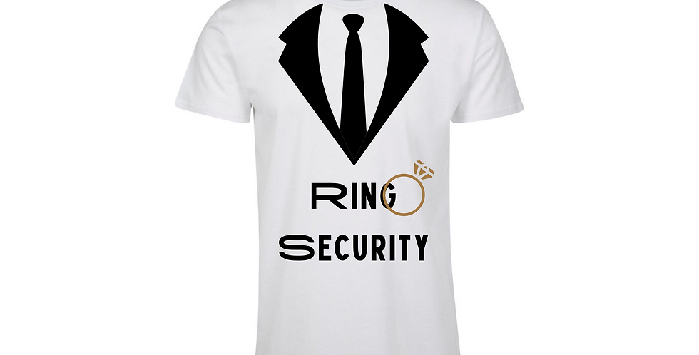 Ring Security Wedding Party Shirt