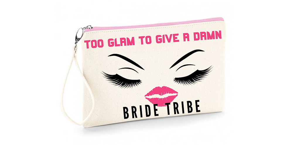 Wedding Accessory Bag Too Glam To Give A Damn Bride Tribe
