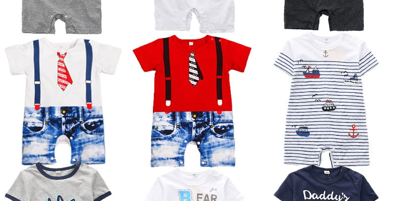Baby Rompers Style Powered For Baby Boy or  Girl