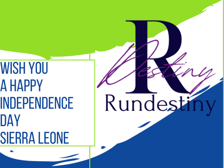 27 April 2021 SIERRA LEONE INDEPENDENCE DAY