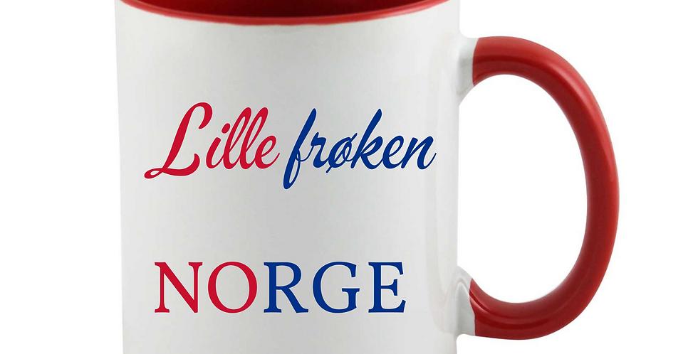 Lille Frøken Norge Mug