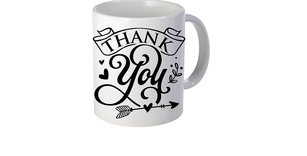 Thank You 11 oz mug