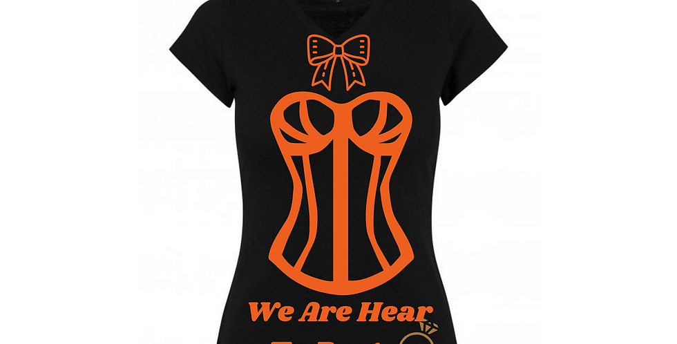 We Are Hear To Party Custom T-Shirt