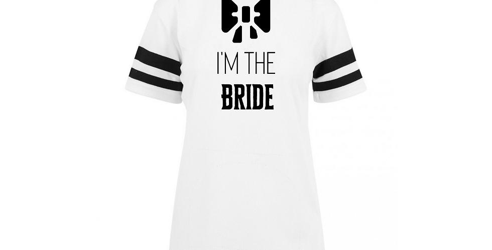 I'm The Bride Custom Jersey Tee