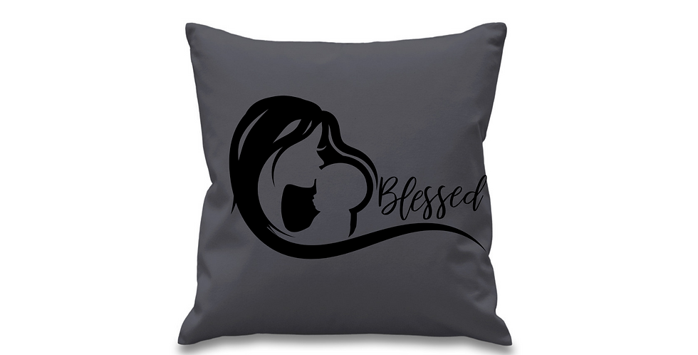 Wedding Cushion Cover Blessed