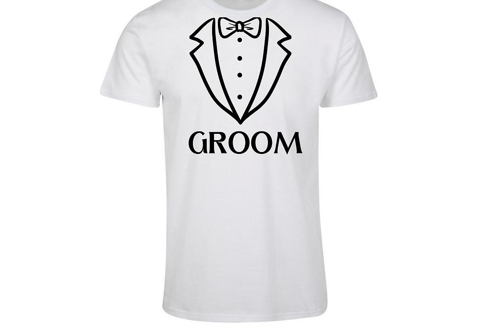 Groom Wedding Party Shirt