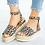 Thumbnail: Sandals Plus Size Wedges Shoes  Platform