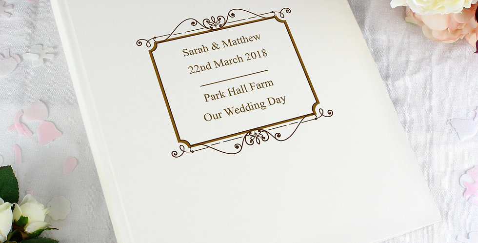 Gold Traditional Album Personalised