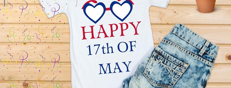 Happy 17th of May T-Shirt