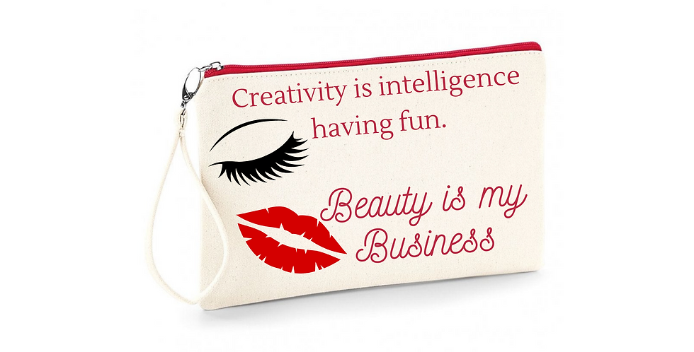 Wedding Accessory Bag Creativity Is Intelligence Having Fun