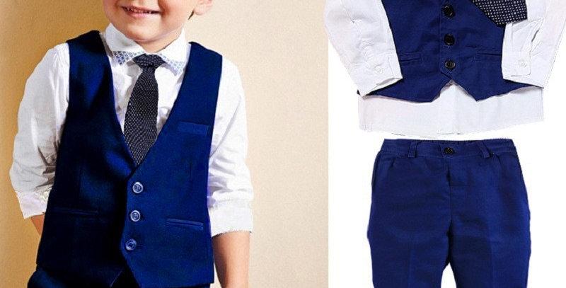 Vest Gentleman Suit
