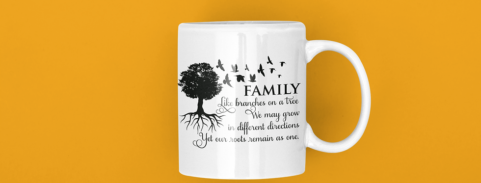 Family Like Branches On A Tree 11oz Mug