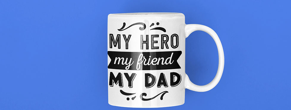 My Hero My Friend My Dad 11oz Mug