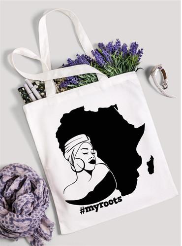 My Roots Cotten Bag