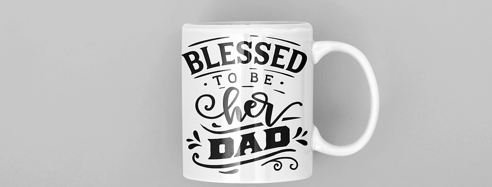 Blessed To Be Her Dad 11oz Mug