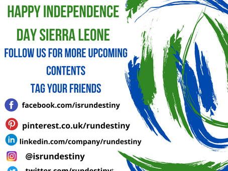WHEN SIERRA LEONE BECAME INDEPENDENT