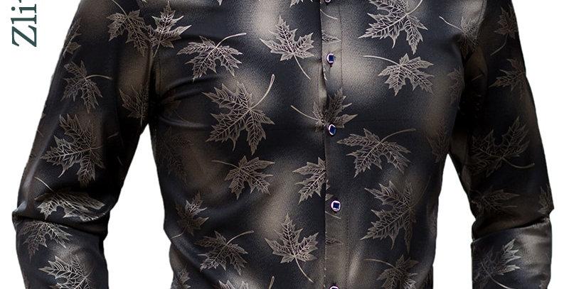Long Sleeve Maple Leaf Designer Shirts