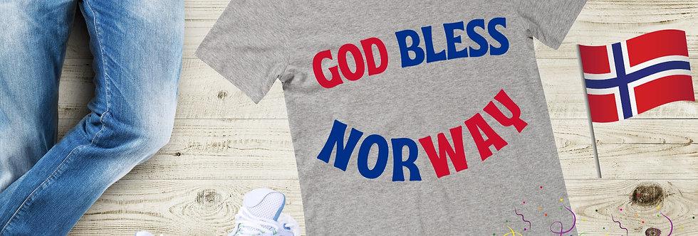 God Bless Norway T-Shirt