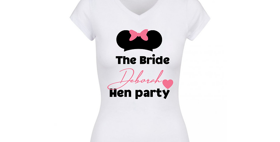 Personalised Hen Party T-Shirt