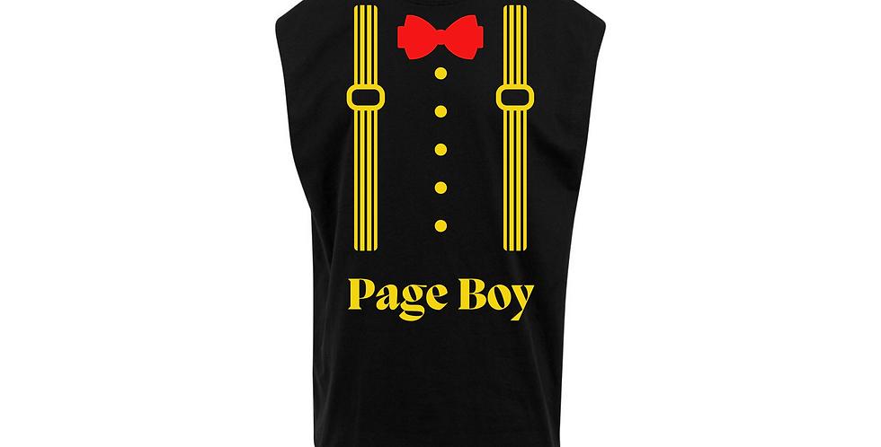 Page Boy Wedding Party Shirt