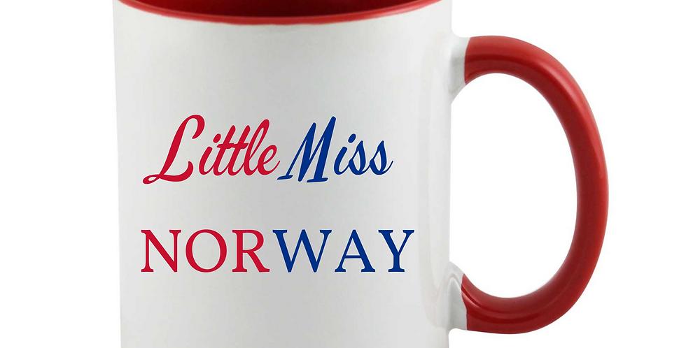 Little Miss Norway Mug