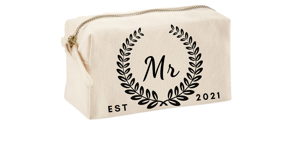 Wedding Accessory Personalised Bag Mr
