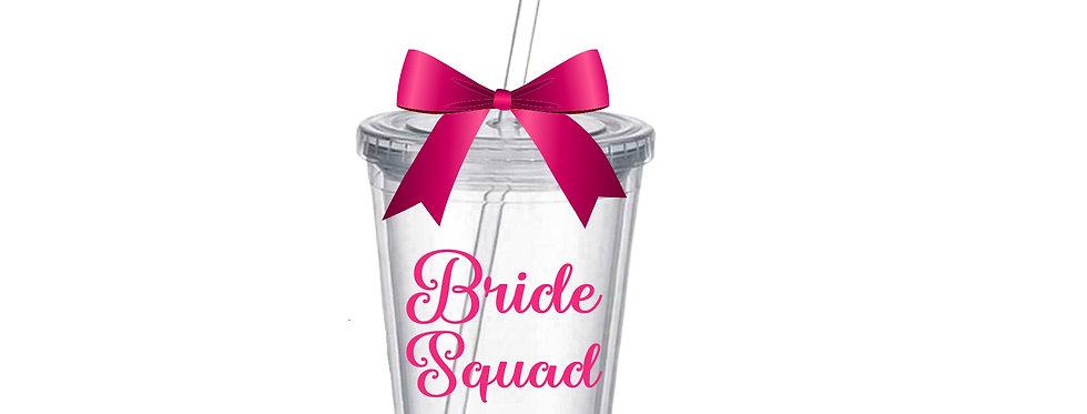 Bride Squad Tumbler