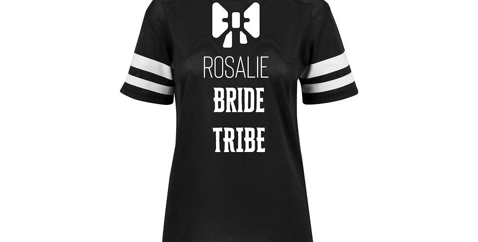 Personalised Bride Tribe Jersey Tee