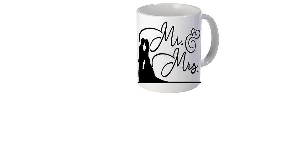 Mr & Mrs Mug