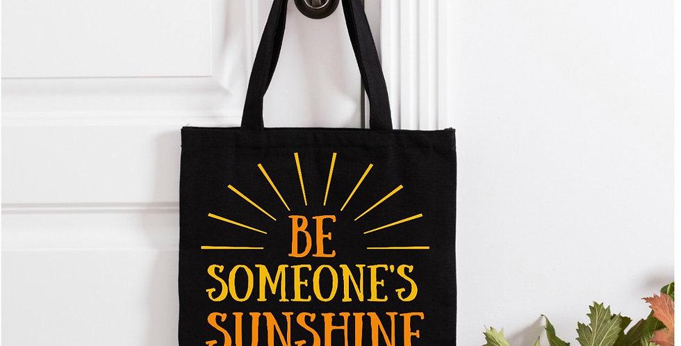 Be Someones Sunshine Cotton Bag