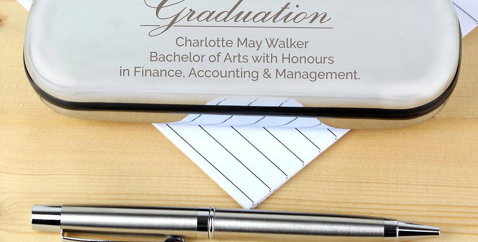 Pen and Box Set Personalised Graduation