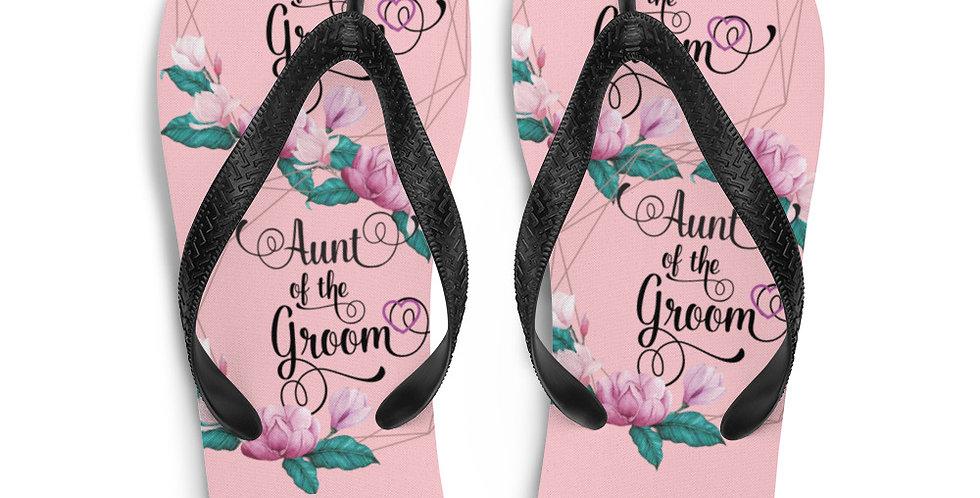 Wedding Flip-Flops Aunt OF The The Groom