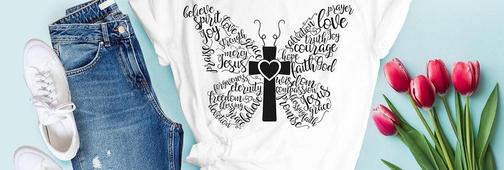 Believe Spirit Love Joy Strength T-Shirt
