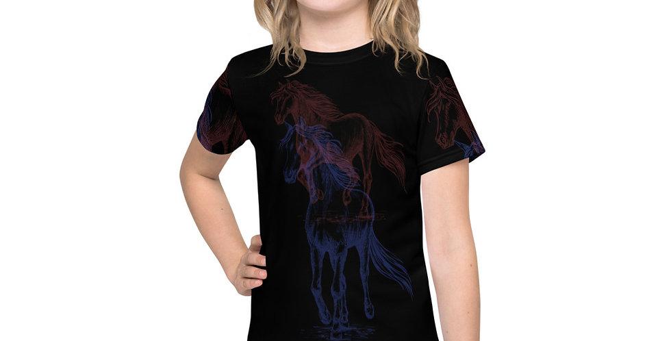 Kids crew neck t-shirt