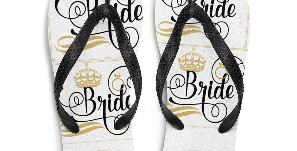 Wedding Flip-Flops Bride
