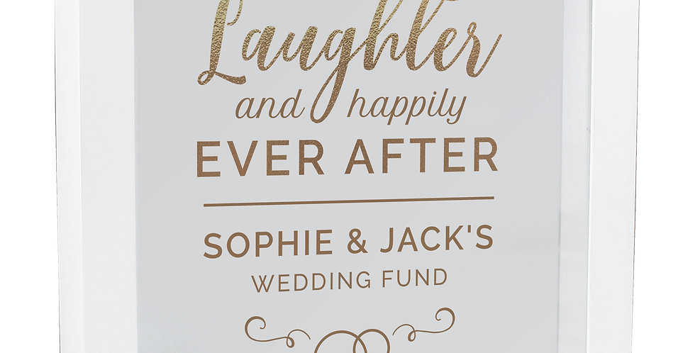 Fund Box Personalised Happily Ever After Wedding