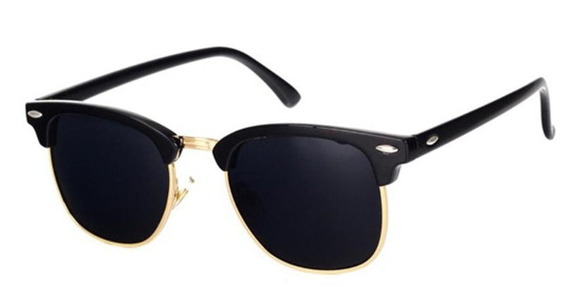 LeonLion  Polarized Semi-Rimless Sunglasses Women/Men Polarized