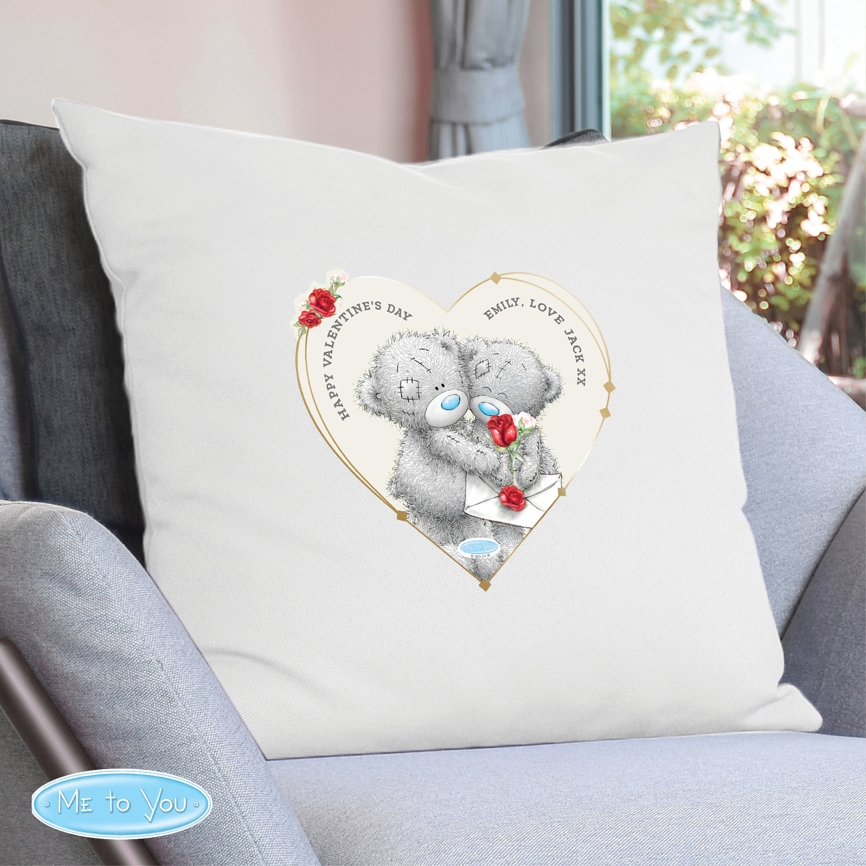 Cushion Cover Me to You Valentine