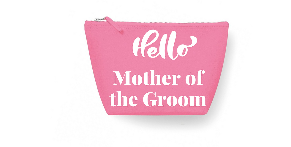 Wedding Accessory Bag Hello Mother OF The Groom
