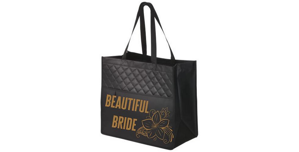 Beautiful Bride Personalised Fashionable Tote Bag