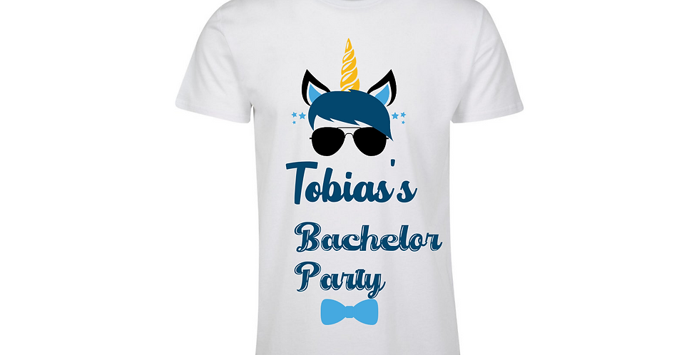 Personalised Bachelor Party T-Shirt