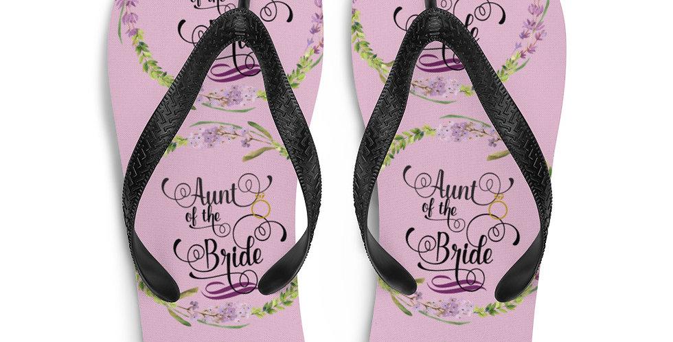 Wedding Flip-Flops Aunt Of The Bride
