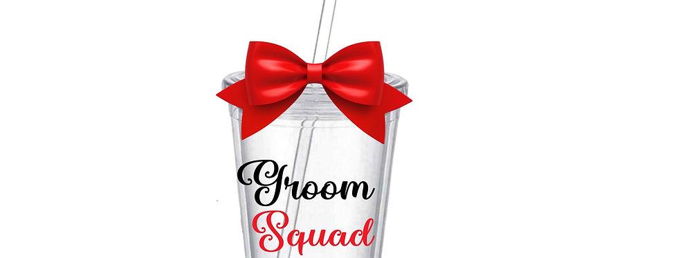 Groom Squad Tumbler