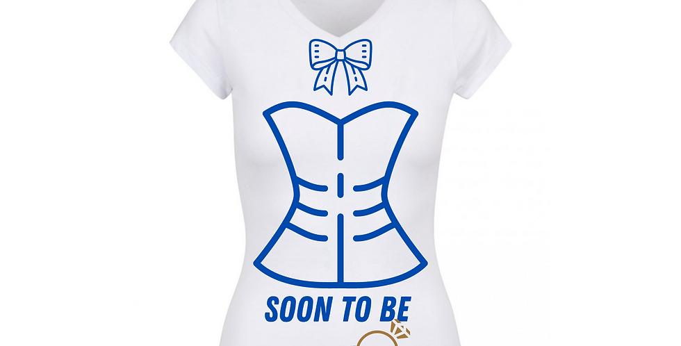 Soon To Be Mrs Custom T-Shirt