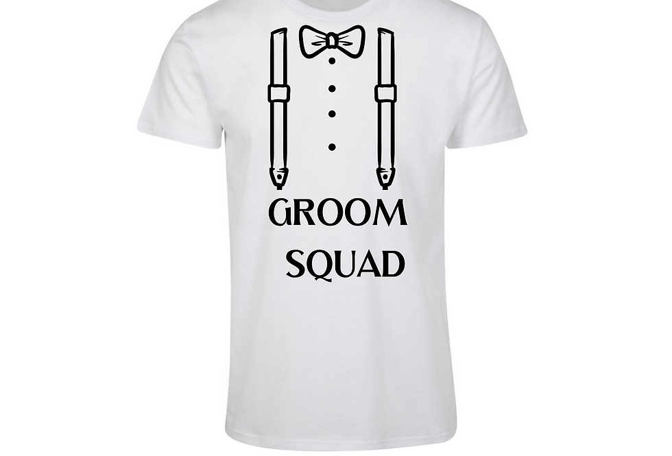 Groom Squad Bachelor Party Shirt