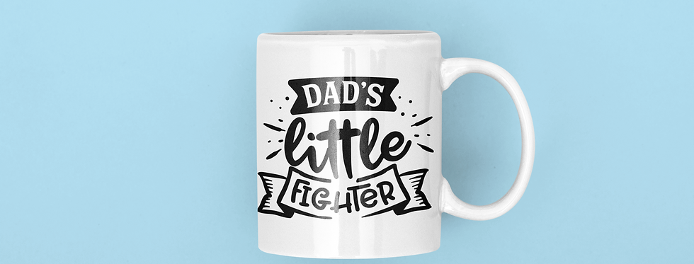 Dad's Little Fighter 11oz Mug